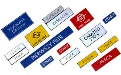 tabliczki elektryczne